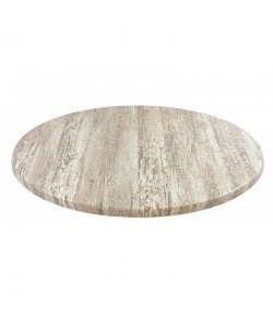 Tablero de mesa Werzalit-Sm MONTPELLIER 214, 60 cms de diámetro*.