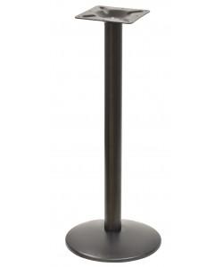 Base de mesa BOHEME, alta, negra, 43*110 cms