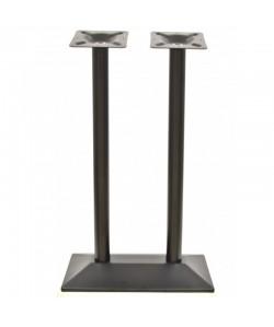 Base de mesa SOHO, alta, negra, 70*40*110 cms
