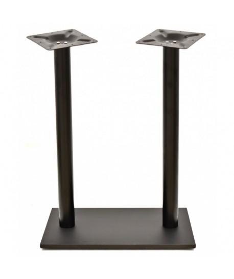 Base de mesa BEVERLY, alta, negra, 70*40*110 cms
