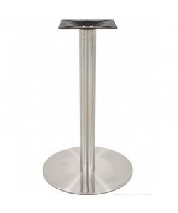 Base de mesa MALIBU, acero inoxidable, 45*72 cms, pulido satinado