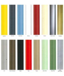 Carta de colores - armazón metálico - marca PR - 1 -