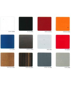 Carta de colores de compact-fenólico 13 mm - Grupo A para marca PR-1