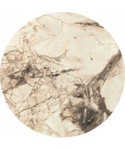 Tablero de mesa Werzalit-Sm, MARBLE ALMERIA 209, 70 cms de diámetro*.