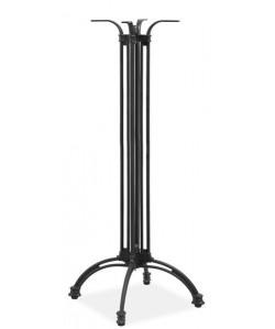 Base de mesa EIFFEL NEW, alta, aluminio, negra, altura 108 cms