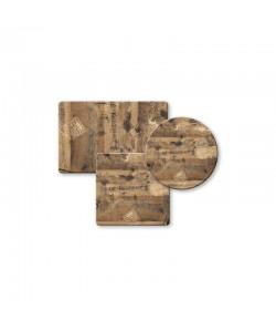 Tablero de mesa Werzalit Alemania, EX WORKS 122, 110 x 70 cms*