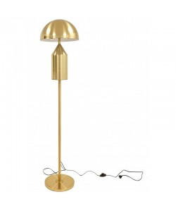 Lámpara MACAO, de pie, metal, dorada