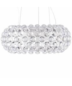 Lámpara ITALICA, colgante, diseño, acrilica transparente