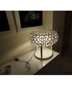 Lámpara ITALICA 50, sobremesa, acrílica, transparente, 50 cms de diámetro
