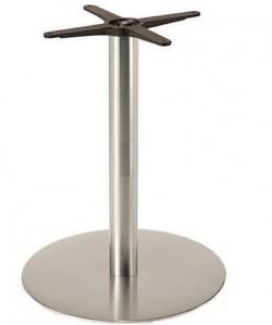 Base de mesa VOLGA, acero inoxidable, 45*73 cms, pulido satinado