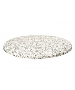 Tablero de mesa Topalit -mono - TRAVIATA, 60 cms de diámetro*.
