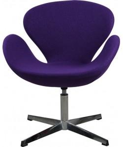 Sillón SW T, diseño, tejido violeta
