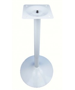 Base de mesa CRISS, alta, blanco satinado, 45*110 cms