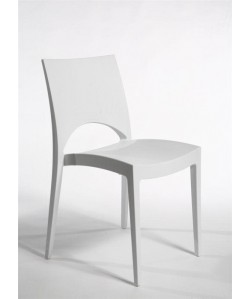 Silla SABA, polipropileno color blanco