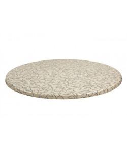 Tablero de mesa Topalit -Mono - FILO 132, 70 cms de diámetro*.