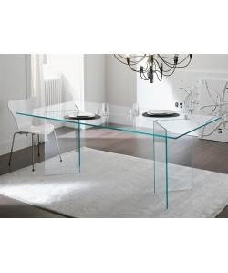 Mesa OTISH, cristal 180 x 90 cms
