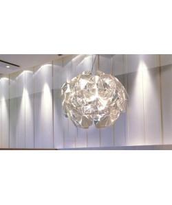 Lámpara BOREAL, colgante, acrilica transparente