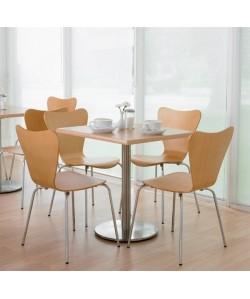 Pack JAVOL, mesa de 70 X 70 cms y 4 sillas - color a elegir -