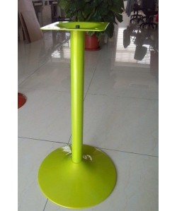 Base de mesa CRISS NEW, alta, verde lima, 45*110 cms.