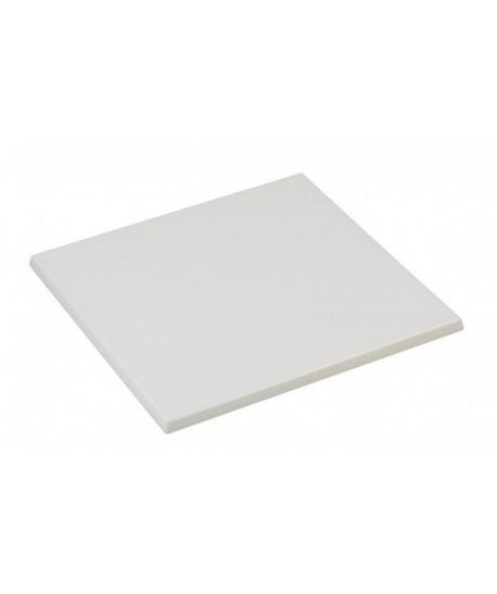 Tablero de mesa Werzalit, BLANCO 01, 60 x 60 cms*
