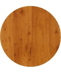 Tablero de mesa Werzalit, PINO 321, 60 cms de diámetro*.