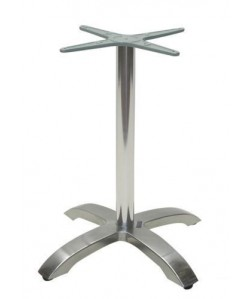 Base de mesa MILAN, 4 brazos, aluminio*