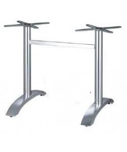 Base de mesa MILAN, rectangular, aluminio*