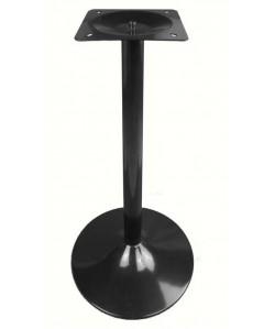 Base de mesa CRISS, alta, negro satinado, 45*110 cms