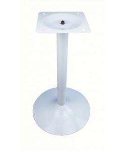 Base de mesa CRISS, blanco satinado, 45*73 cms