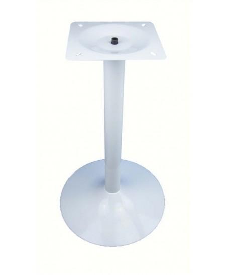 Base de mesa CRISS, blanco satinado, 45*73 cms