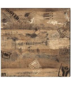 Tablero de mesa Werzalit, EX WORKS 122, 70 x 70 cms*