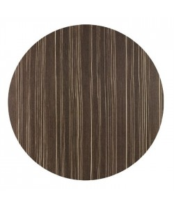 Tablero de mesa Werzalit, SAFARI BROWN 76, 60 cms de diámetro*.