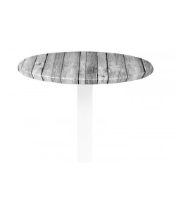 Tablero de mesa Werzalit, ANTIQUE WHITE 202, 60 cms de diámetro*.